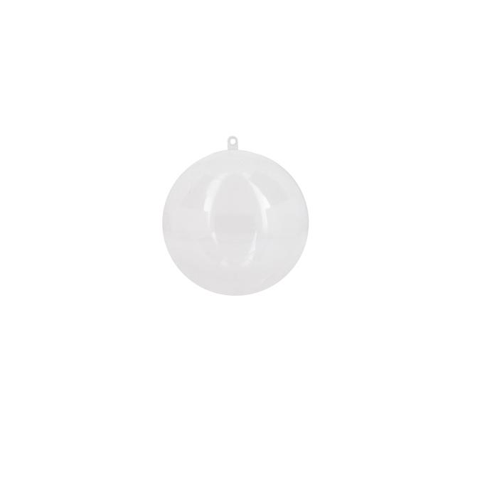Boule en plastique 10cm