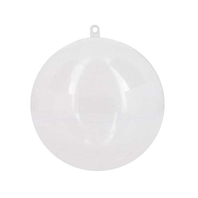 Boule en plastique 12cm