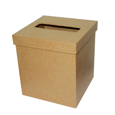 objet en papier m ch bo te mouchoir carr e d copatch chez rougier pl. Black Bedroom Furniture Sets. Home Design Ideas