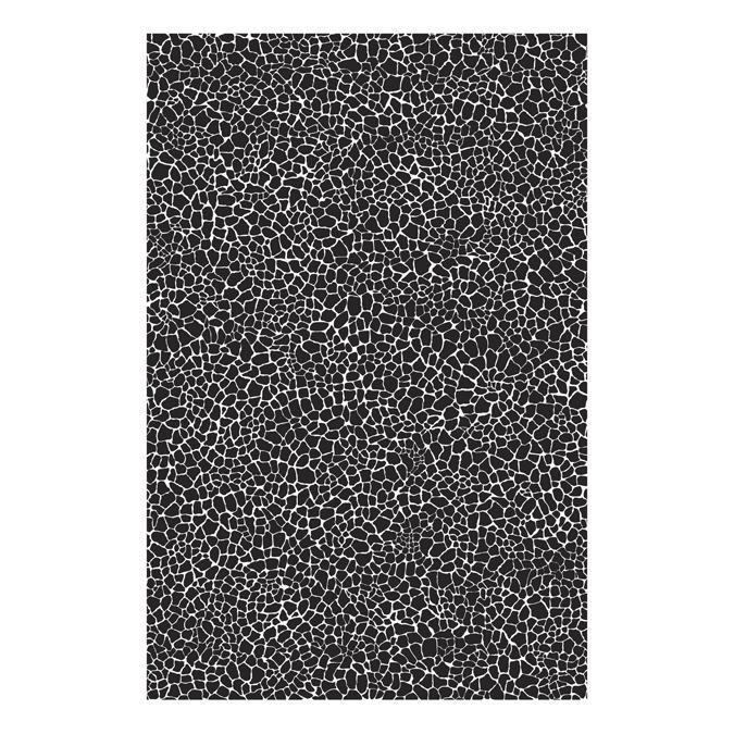 Papier Décopatch 30 x 40cm 000 granule gris foncé