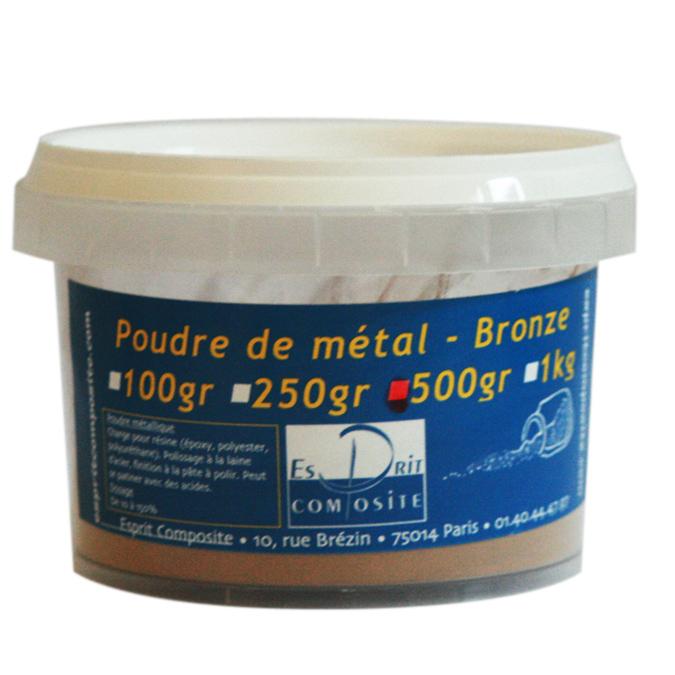 Poudre de métal Charges de bronze 500g
