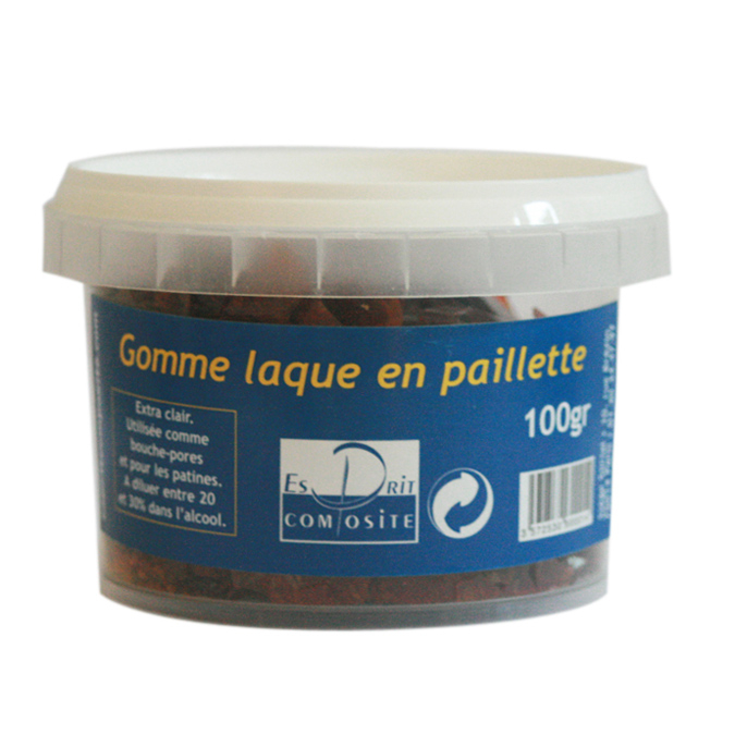 Gomme laque 100g