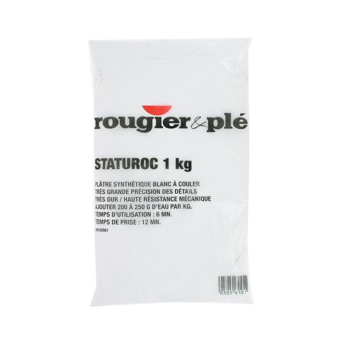 Plâtre synthétique blanc Staturoc 1 kg à couler