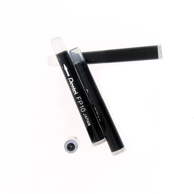 Cartouches de rechange pour Pocket Brush référence GFKP set de 4 noir