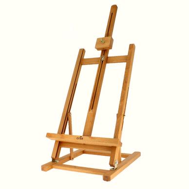 Chevalet de table en h tre cr a chez rougier pl - Fabriquer un chevalet pour couper du bois ...