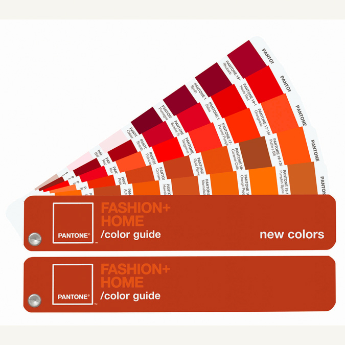 Nuancier pantone Fashion & home