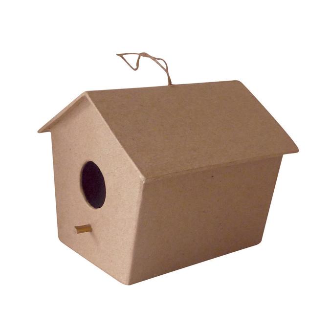 Objet en papier mâché grande maison suspendue
