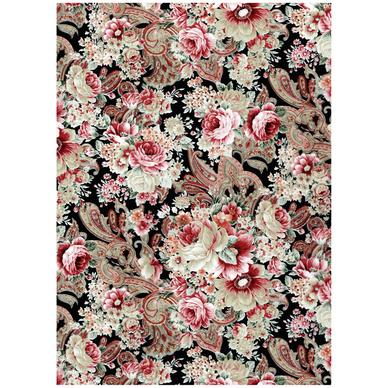 Papier d copatch 30 x 40cm 590 tapisserie florale for Decopatch papier