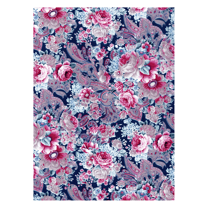 Papier Décopatch 30 x 40cm 592 tapisserie florale
