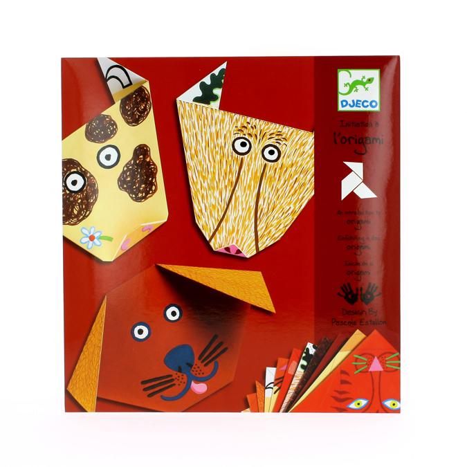 Origami set thème animaux