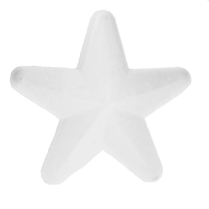 Étoile en polystyrène 15cm