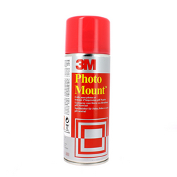 Colle 3M aérosol PhotoMount 400ml permanente