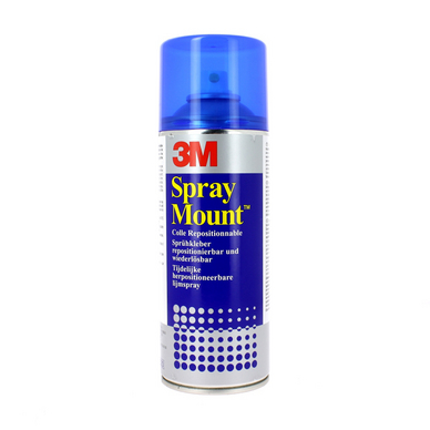 Colle 3M aérosol SprayMount 400ml repositionnable
