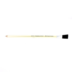 Crayon-gomme blanche perfection dure avec brosse