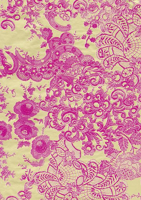 Papier Décopatch 30 x 40cm 461 floraux roses