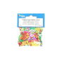 Paillettes Happy Birthday multicolores sachet de 20g
