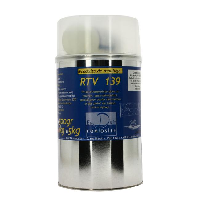 Silicone RTV 139 Résistant à 320 °C 950 g + catalyseur 50 g