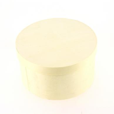 Bo te ronde en bois 13 5 cm glorex chez rougier pl for Boite ronde a decorer
