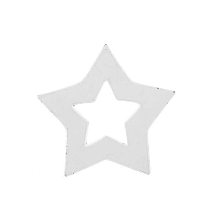 Objet en papier mâché 12cm étoile vide