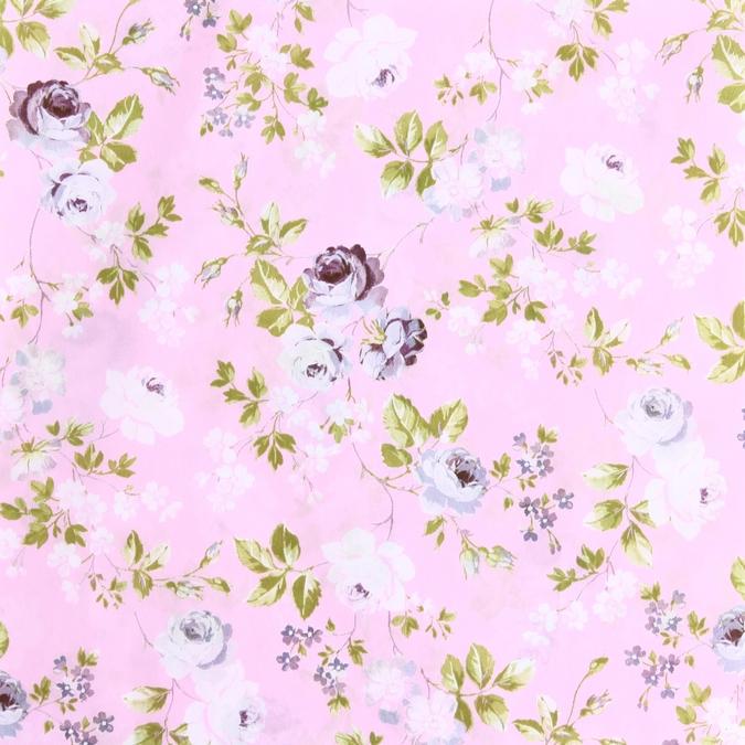 Papier Décopatch 30 x 40cm Fleurs roses