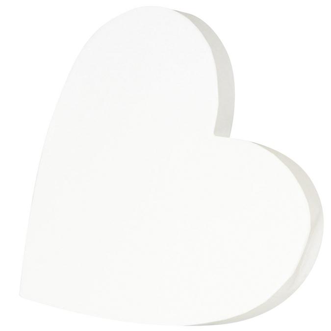 Coeur plein en papier mâché