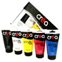 Set de 5 tubes d'acrylique fine de 150ml