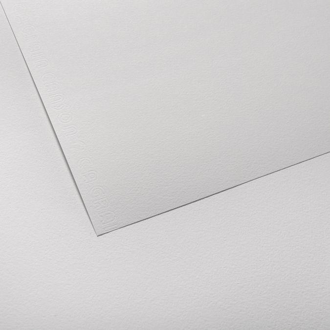 Canson C à GRAIN, Grain Fin 125g/m², feuille 50x65cm