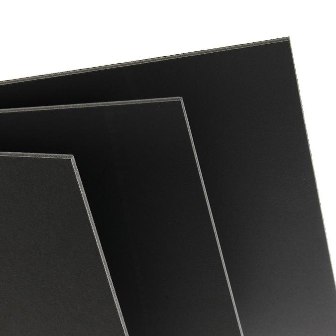 Carton plume 5mm noir 21 x 29,7 cm