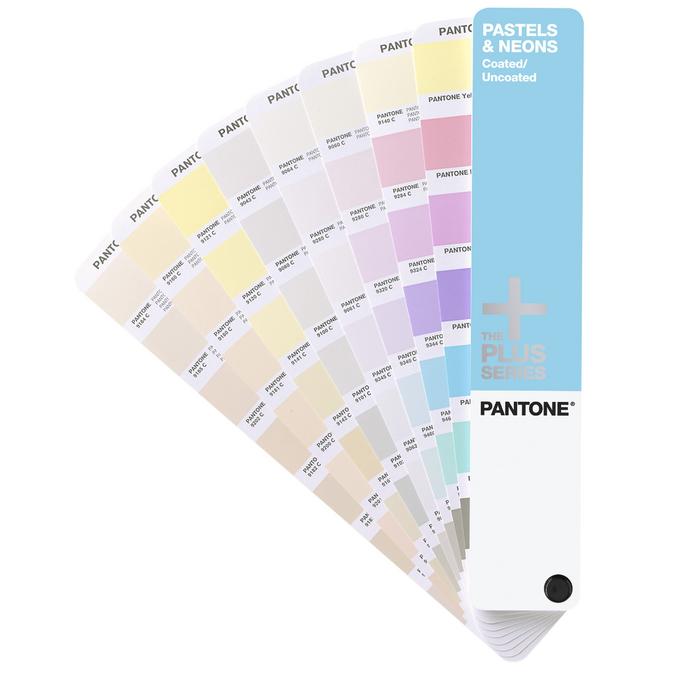 Nuancier pantone pastel & néons