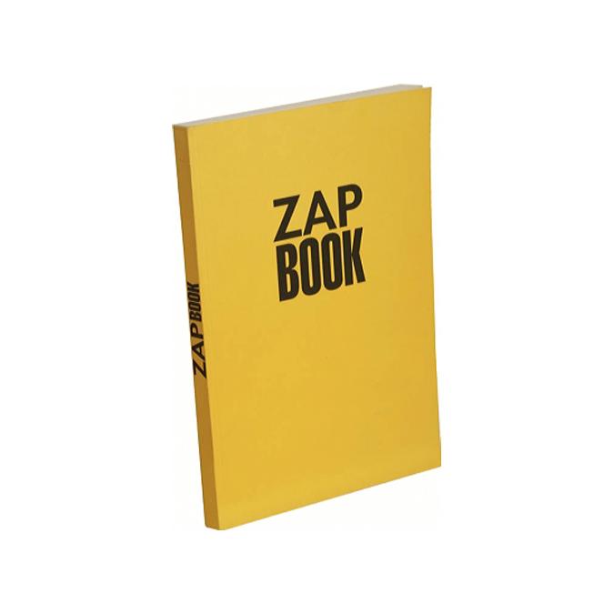 Bloc papier Zap Book collé grand côté 160 feuilles 80g/m² A4