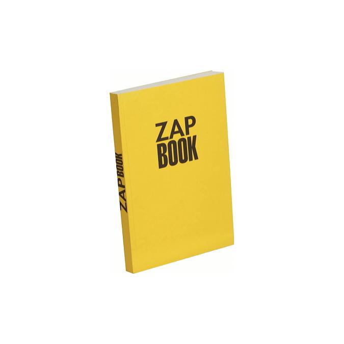 Bloc papier Zap Book collé grand côté 160 feuilles 80g/m² A5