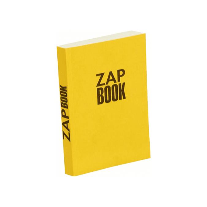 Bloc papier Zap Book collé grand côté 160 feuilles 80g/m² 11 x 15cm