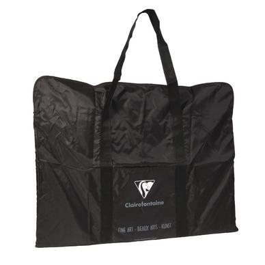 sac d 39 artiste pour carton dessin noir en polyamide 59 x 75cm clairefontaine chez rougier pl. Black Bedroom Furniture Sets. Home Design Ideas