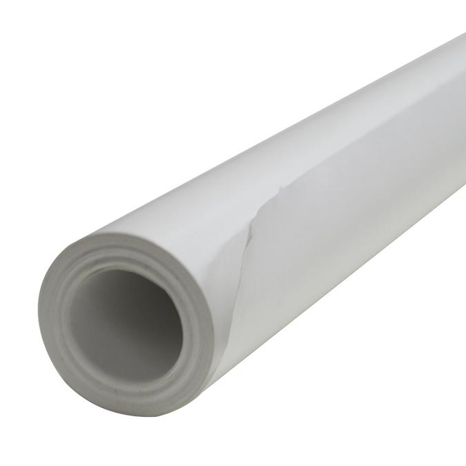 Rouleau de papier kraft de 10 x 1m Blanc