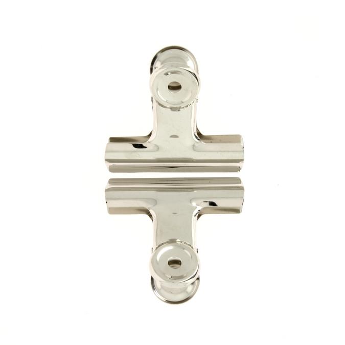 Pinces à dessin Bulldog 70 mm écartement 40 mm par 2