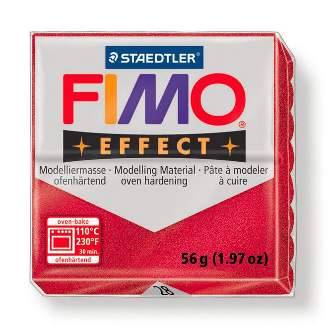 Pâte polymère Fimo Effect 56g 817 - Gris perle claire