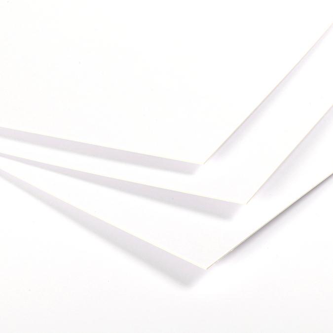 Carton 1 face lavis, 1 face bristol Vinci 50 x 65cm 650g/m² épaisseur 0,9mm