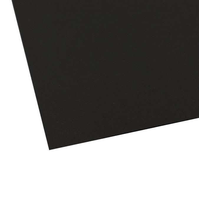 Feuille de papier noire 50 x 70 cm 270 g/m²