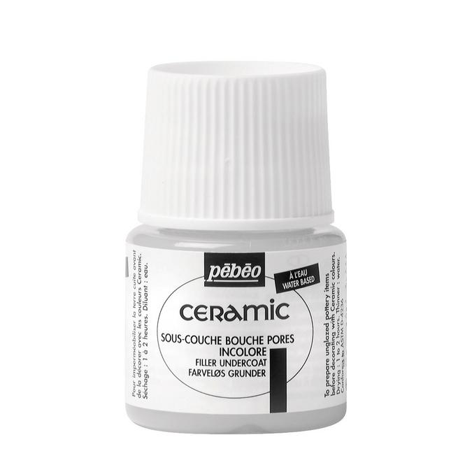 Sous couche bouche pores 45 ml pour peinture Céramic de Pébéo
