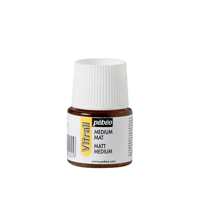 Médium mat 45 ml pour peinture Vitrail de Pébéo