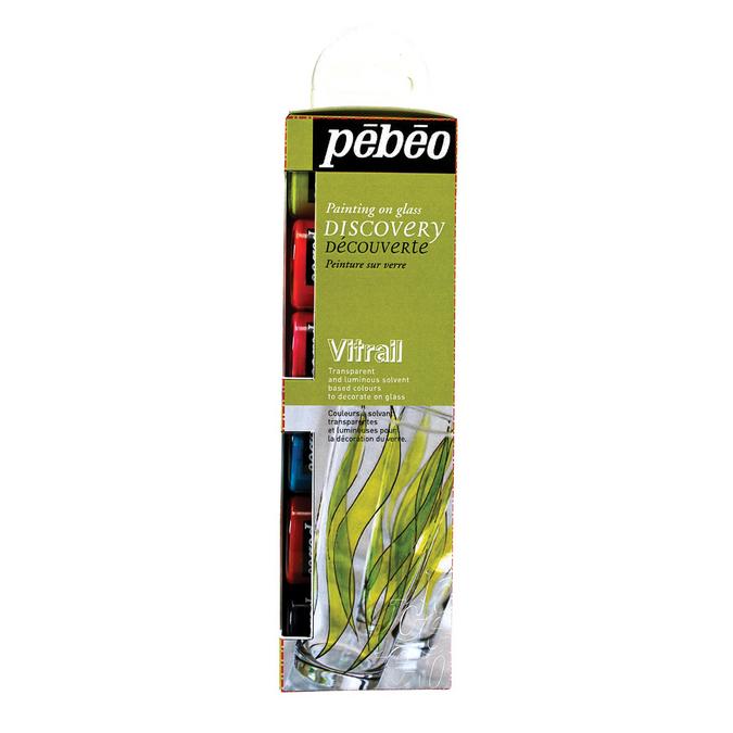Set découverte Vitrail 6 flacons de 20 ml