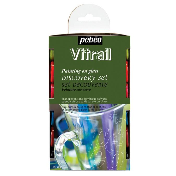 Set découverte Vitrail 12 flacons de 20 ml