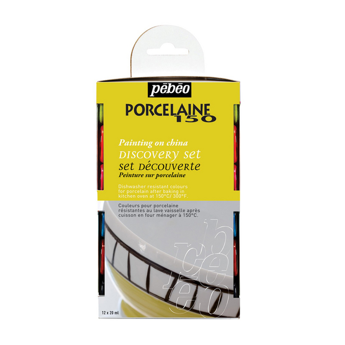 Set découverte Porcelaine 150 12 flacons de 20 ml