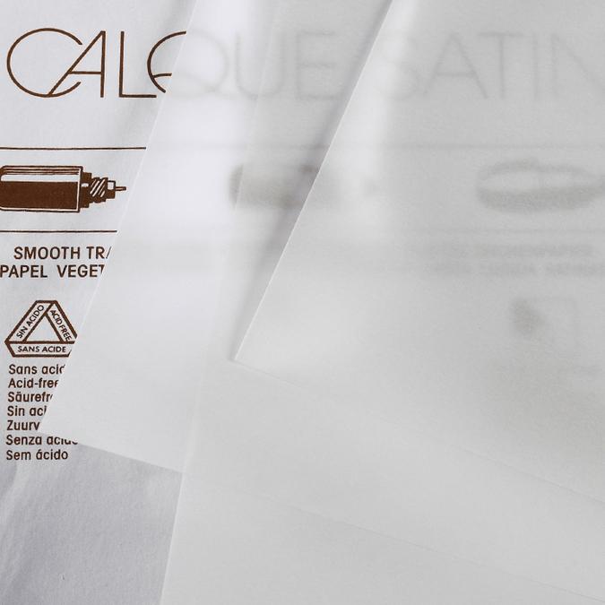 Papier calque satin 90/95g microfine