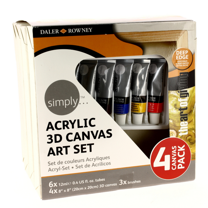 Set acrylique & chassis 3D Simply