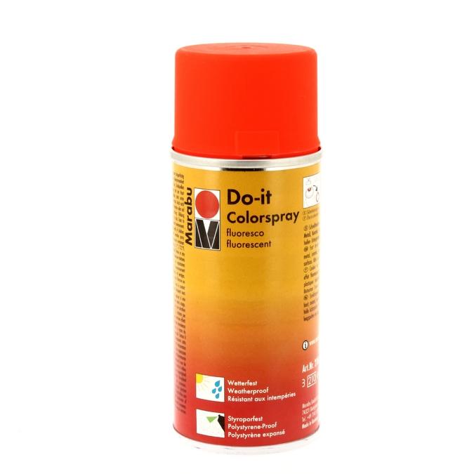 Peinture acrylique Do-it aérosol 150ml fluo 320 - Fluo citron