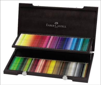 beau coffret 120 crayons Albrecht Durer