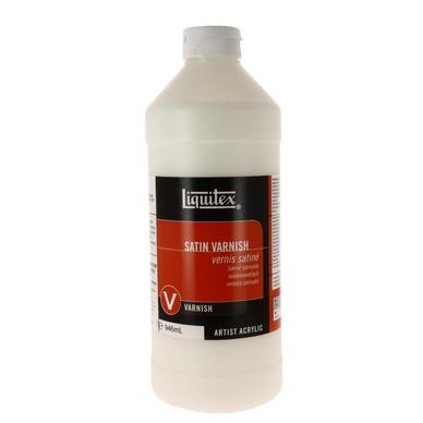 Vernis acrylique satin liquitex 1 l liquitex chez rougier pl - Vernis sur peinture acrylique ...