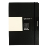 Carnet de notes Moleskine Folio Album A4 quadrillé noir