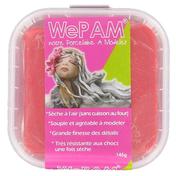 Pâte porcelaine WePAM séchage à l'air 145 g Caramel